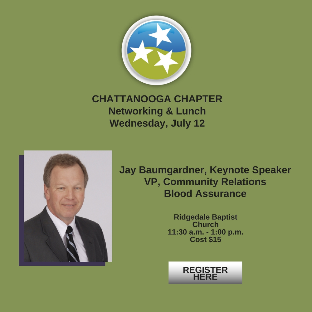 TN Christian Chamber of Commerce July 2017 Luncheon Jay Baumgardner